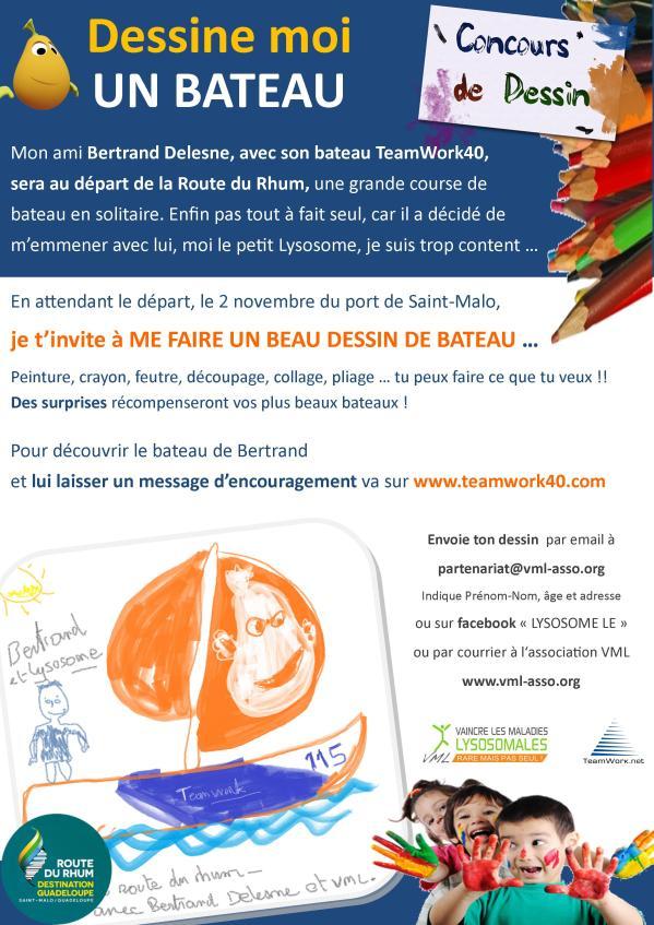 Concours dessin Route du rhum 2014
