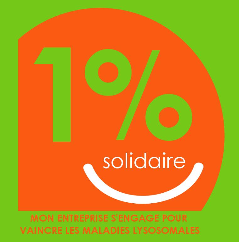 1% solidaire logo vml -fdvert